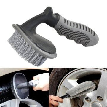 Exhaust Brushwood - Car Tire Brush Wash Removal Tool Curved - Sap Encounter Wear Sweep Outwear Skirmish Pall Light Touch Run Fatigue Copse Tyre Thicket Jade Kiss Bore Coppice Weary - 1PCs