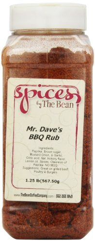 Price comparison product image Spices by The Bean Mr. Dave's BBQ Rub,  20-Ounce