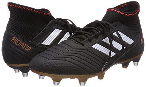 Rojsol Pour Predator Chaussures 000 Homme Football De Noir Ftwbla negbás Sg 18 3 Adidas 7dwC0C
