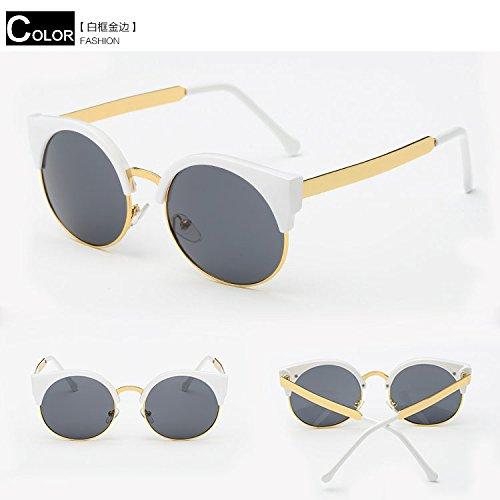 KunZhangSunglasses, Goggles, Beach Travel Mirrors, Glasses, Tidal Sunglasses, - Beach Oval Mirror Collection