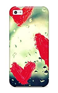 Hot 3418232K85412758 Ultra Slim Fit Hard Case Cover Specially Made For Iphone 5c- Heart Beat
