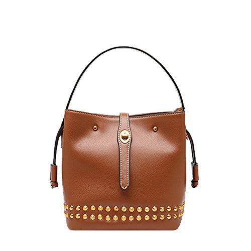 Medium Marrone Mano Borsa A Donna Dissa AwaIPqnn