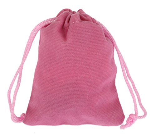(10 PACK) VELVET BAGS 4