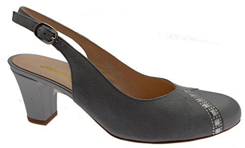 MELLUSO - Sandalias de vestir para mujer Gris gris