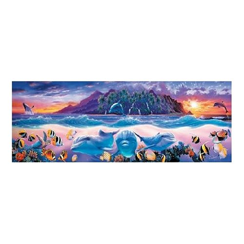 - Master Pieces Tropic Dolphins 500 Piece Jigsaw Puzzle