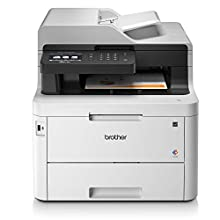 Brother MFC-L3770CDW - Impresora multifunción (Wifi, USB 2.0, 512 MB, 800 MHz, 24 ppm, 430 W) blanco