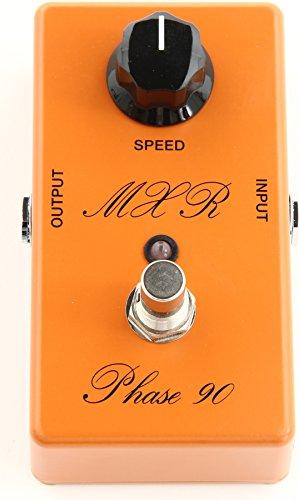 MXR CSP101SL Custom Shop Script Phase 90 LED Vintage Custom Shop w/Bonus RIS Pick (x1) 710137029682 by MXR