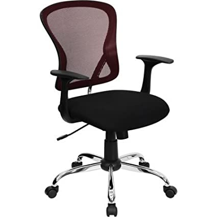 Mesh Desk Chair With Chrome Base,Multiple Colors,Task Chair, Home Furniture,