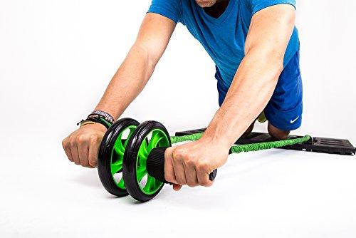 BodyBoss Ab Wheel (Green)