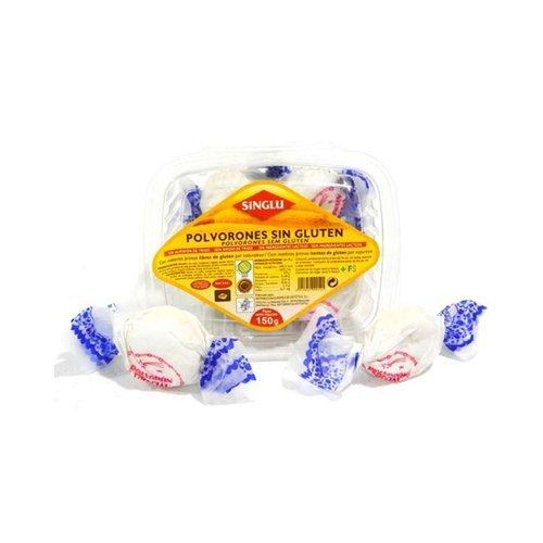 Polvorones Sin gluten 150 gr de Singlu: Amazon.es: Salud y ...