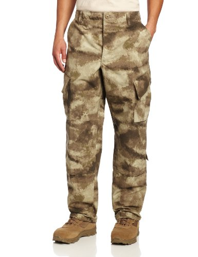 Propper Men's 50N/50C ACU Trouser, A-TACS AU Camo, Large Long
