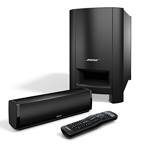 Bose CineMate 15 Home Theater Speaker System, Black (Bose Sound Bar For Tv)