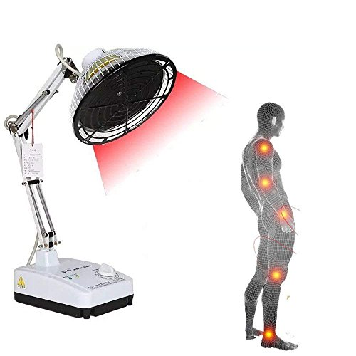 Great Pain Relief Device Therapeutic Physiotherapy Apparatus, Lolicute Desktop TDP Far Heat Lamp Electromagnetic Wave Light for Mineral Therapy Health Beauty Far-Infrared Pain Relief Device 250W (Adjustable Temperature) 2019