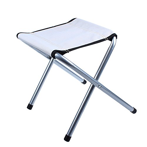 MyLifeUNIT Portable Folding Stool for Outdoor Camp Fishing Travel, 14 Inch Height, Weight Capacity 198 LBS by MyLifeUNIT