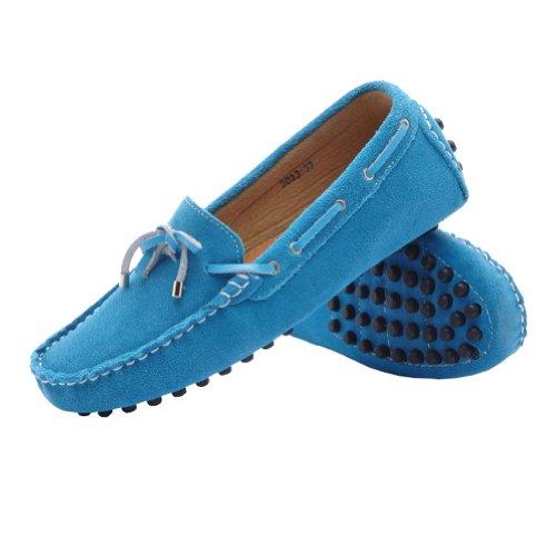 Molecole Moccasin Boots - plataformas rectas de goma mujer Azul