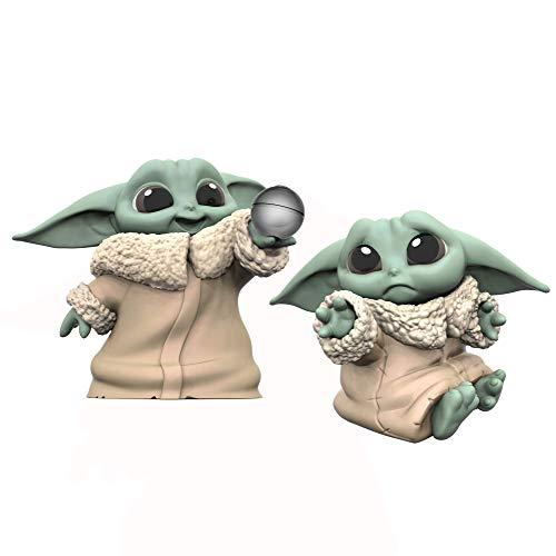 "Star Wars The Bounty Collection The Child Collectible Toys 2.2-Inch The Mandalorian ""Baby Yoda"" Don't Leave, Ball Toy Figure 2-Pack from Star Wars"