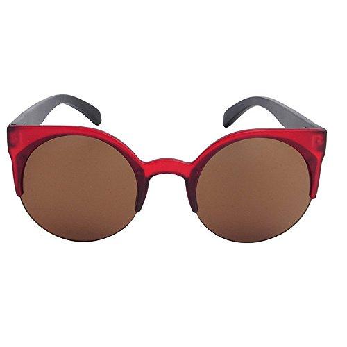 Gu Sol Libre Al Conducción Protección Sol Peggy Lente Polarizado Pesca de de la de Ojos mujer de Aire Gato Gafas Leg Gafas Personalidad de Bamboo UV PC Marco Playa vxqfwd
