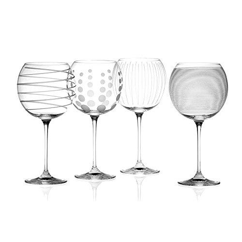 (Creative Tops Mikasa Cheers Balloon Gin Copa Goblets Glasses set of 4)