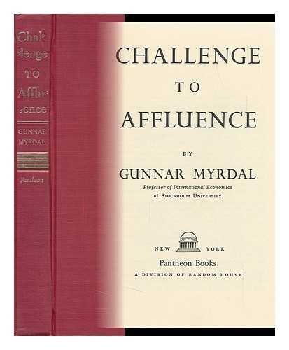 Books : Challenge to Affluence.