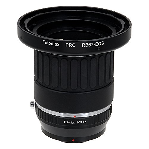 (Fotodiox Pro Combo Lens Mount Adapter Compatible with Mamiya RB67 and RZ67 Lenses on Fuji X-Mount Cameras)