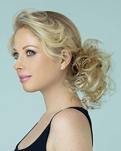 Revlon Hair Extensions - Swirlz Curly Wrap Color Dark Blonde - Revlon Hairpiece Overall Length 8