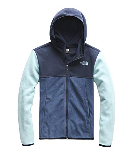 The North Face Blue Fleece - The North Face Kids Boy's Glacier Full Zip Hoodie (Little Kids/Big Kids) Shady Blue Medium