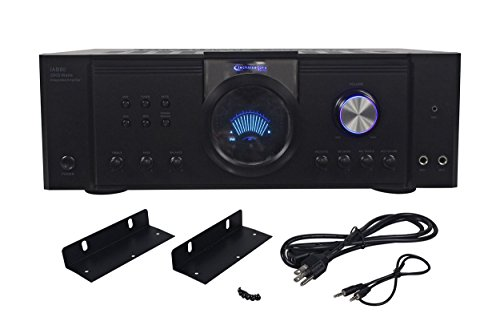 New Technical Pro IAB80 2500 Watt Integrated DJ Amplifier w/MP3 Input+Color LCD by Technical Pro