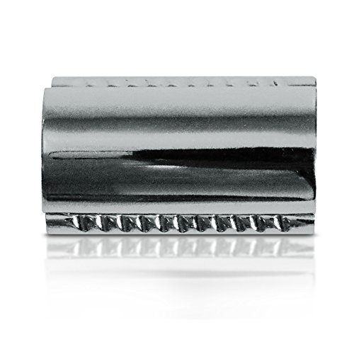 Insane Sale! Gibson Double Edge Safety Razor Head Replacement for Balanced Premium Classic Shave - Used with all 3 Piece Short and Long Handled DE Razors sets. Handles Sold - 5 Blades Eshave
