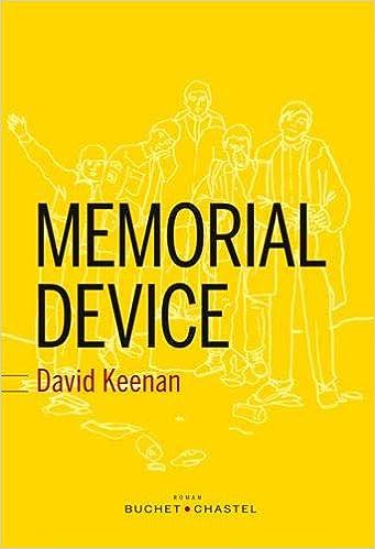 Memorial Device - David Keenan (2018) sur Bookys