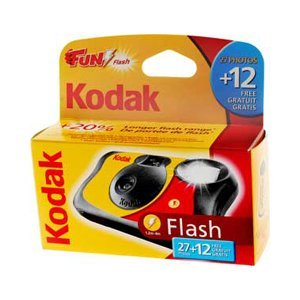 Kodak Fun Flash Disposable Camera – 39 Exposures 5 Pack