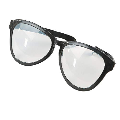 Fun Express - Jumbo Glasses Black - Apparel Accessories - Eyewear - Novelty Glasses - 1 Piece]()