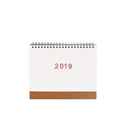 szdc88 Calendario 2019 Horario Mesa Planificador Papel ...
