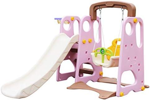 Toboganes independientes Tobogán Para Niños Hogar Multifunción Diapositiva Para Niños Juegos Para Bebés Tobogán Juguetes De Plástico Columpios Toboganes Combinación De Marcos De Tiro Rodamiento De Car: Amazon.es: Hogar