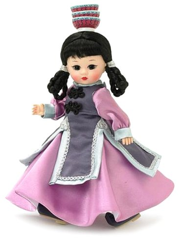 Costume Traditional Mongolian (Madame Alexander 8 Inch International Collection Doll -)