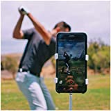 SelfieGolf Record Golf Swing – Cell Phone Clip Holder and Training Aid – Golf Accessories | Winner of The PGA Best Product | Works with Any Smart Phone, Quick Set Up