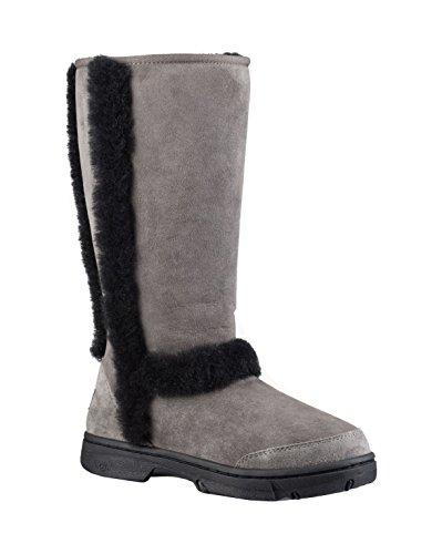 ugg-australia-womens-sunburst-tall-boot-7-bm-us-grey-black