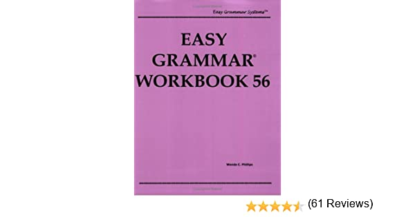 Easy Grammar Workbook 56, Level 1 (Easy Grammar Systems): Wanda C ...