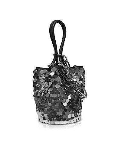 Damen 2048C0296L001 Wang Handtaschen Leder Silber Alexander c0qYawT6