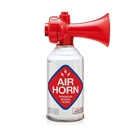 Coverage Horn - K3 Brands USCG Rated Premium Air Horn - Non-Flammable, 4-Pack 8oz