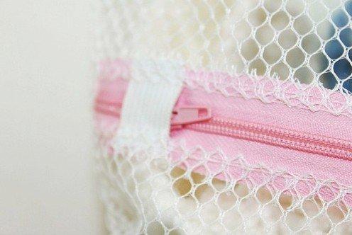 FashionBoutique wash bags set - TWO Big Washing-clothes Bags + ONE Bra Wash Bag