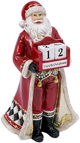 Gerson 14-inch Resin SantaCountdown Calendar / Gerson 14-inch Resin SantaCountdown Calendar