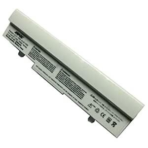 AGPtek 6600mAh Laptop Battery For ASUS Eee-PC 1001 1101HA 1101HGO 1005 1005H 1005HA 1005HAB Series Laptops P/N: Al32 AL31-1005 (White)