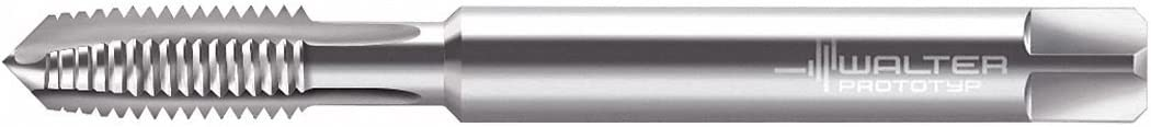Overall Length 63.00mm Spiral Point Tap UNC High Speed Steel Thread Size #8-32