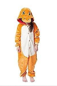 JT-Amigo Kids Unisex Cosplay Pajamas Onesie Charmander Costume