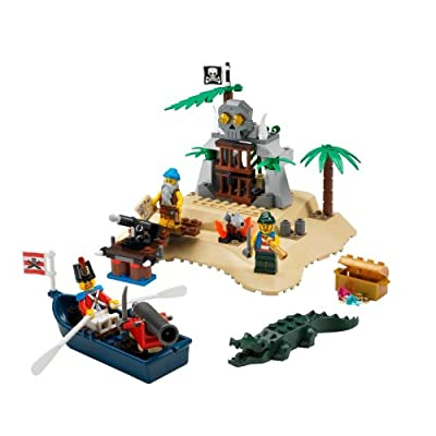 LEGO Pirates Loot Island: Toys & Games