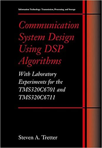 Read Communication System Design Using DSP Algorithms: With