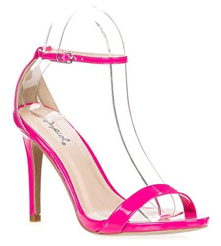 Qupid Womens Grammy-01 Dress Sandal