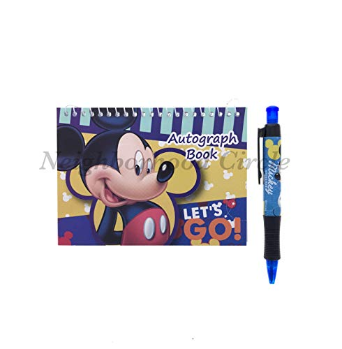 Autograph Mickey (Mickey Mouse Autograph Book with Pen (Dark Blue))