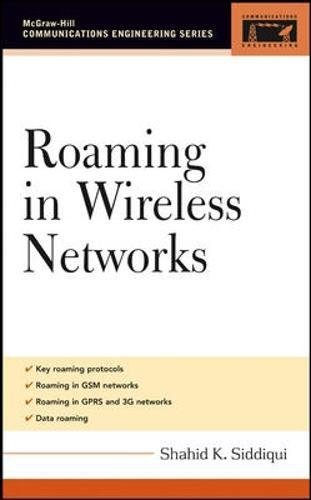 Roaming in Wireless Networks (McGraw-Hill Communications Engineering)