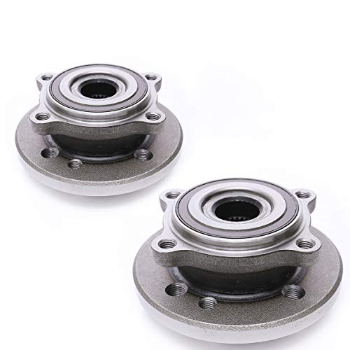FKG 513226 Front Wheel Bearing Hub Assembly for 2002-2006 Mini Cooper (Built Before 4/06 Production Date) 12mm Wheel Bolt Size Set of 2 from FKG